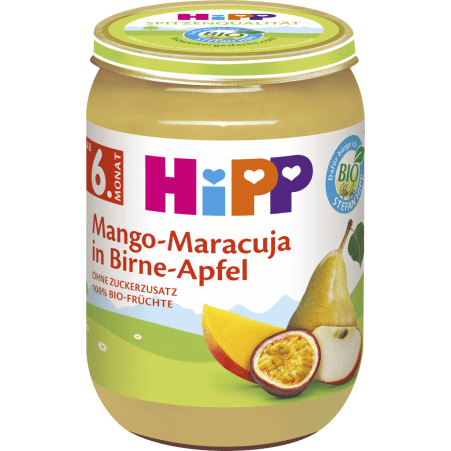 HiPP Mango-Maracuja in Birne-Apfel 6. Monat