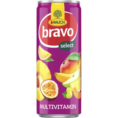 Rauch Bravo Multivitamin Dose 0,355 Liter