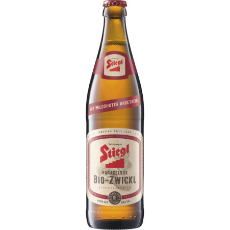 Stiegl Bio Paracelsus Zwickl 0,5 Liter Mehrweg-Flasche