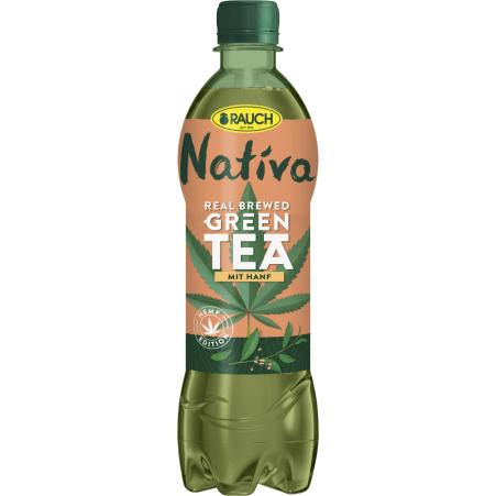 Rauch Nativa Green Tea Hanf 0,5 Liter