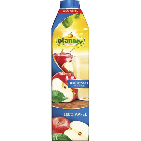 Pfanner Apfeldirektsaft 100% 1,0 Liter