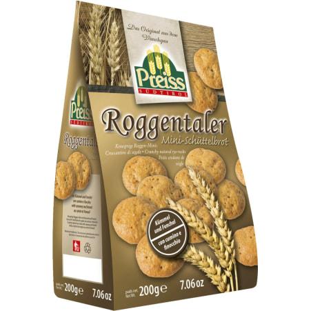 Preiss Roggenthaler Mini-Schüttelbrot