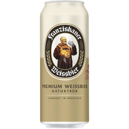Franziskaner Hefe-Weißbier 0,5 Liter Dose