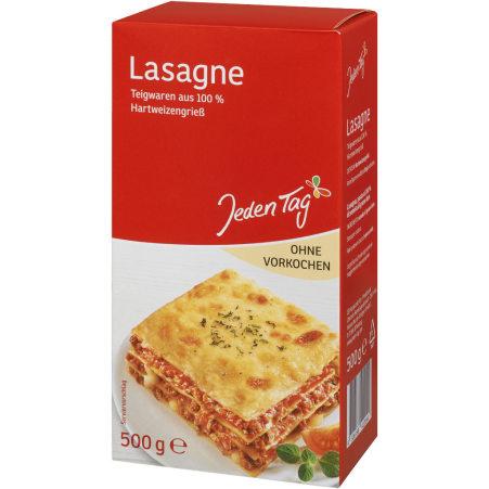 Jeden Tag Lasagne