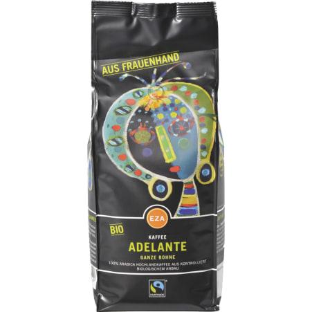 EZA Bio Kaffee Adelante Ganze Bohne
