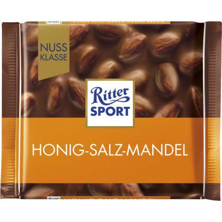 RITTER SPORT Schokolade Nussklasse Honig-Salz-Mandel