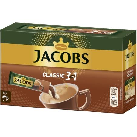 JACOBS 3 in 1 Sticks 10er-Packung