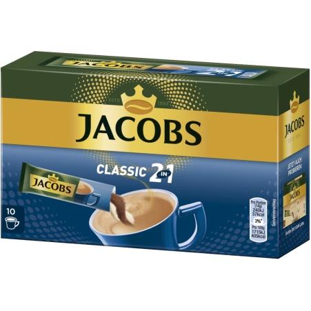 JACOBS Kaffee löslich 2 in 1 10 Sticks