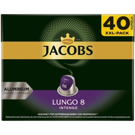 JACOBS Lungo 8 Intenso 40 Kapseln