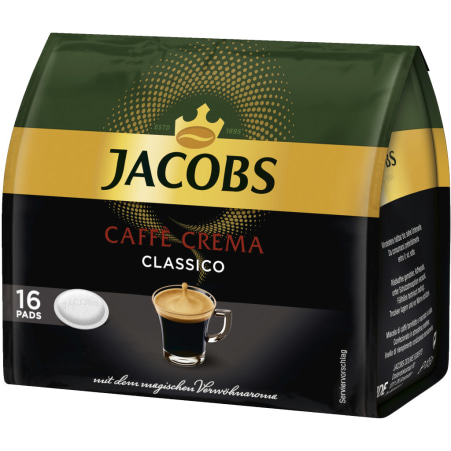 JACOBS Caffe Crema Classico 16 Pads