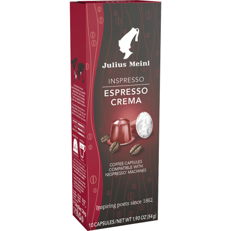 Julius Meinl Inspresso Espresso Lirica 10 Kapseln