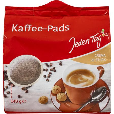Jeden Tag Kaffeepads Crema 20er-Packung