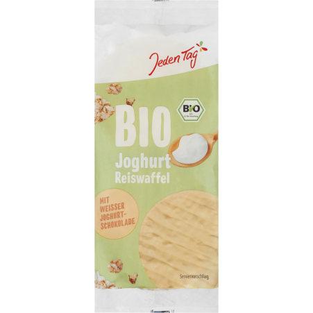 Jeden Tag Bio Reiswaffeln mit Joghurt