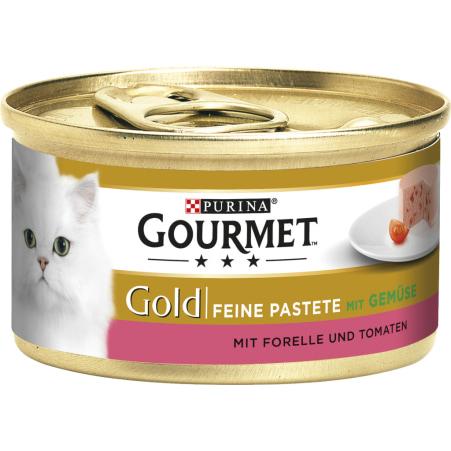 PURINA Gourmet Gold Pastete Forelle & Tomaten