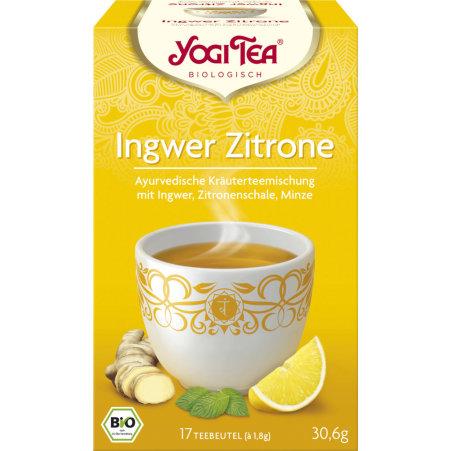 YOGI TEA Bio Ingwer-Zitrone Tee