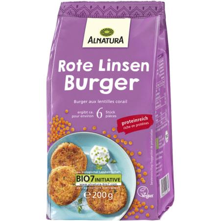 Alnatura Bio Rote Linsen Burger