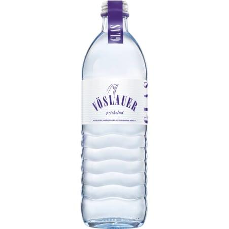 Vöslauer Mineralwasser prickelnd Kiste 8x 0,5 Liter Glas