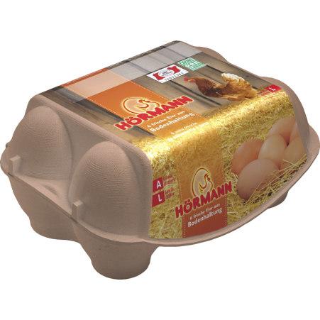 Hörmann Eier Bodenhaltung L 6er-Packung