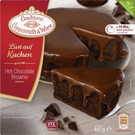 Conditorei Coppenrath & Wiese Lust auf Kuchen Hot Chocolate Brownie