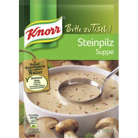 Knorr Bitte Zu Tisch Steinpilzsuppe