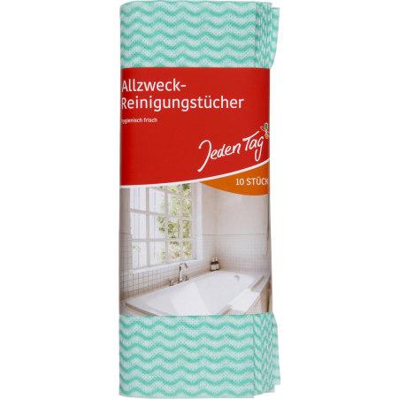 Jeden Tag Allzweck-Reinigungstücher 10er-Packung