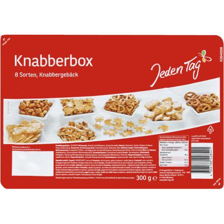 Jeden Tag Knabberbox