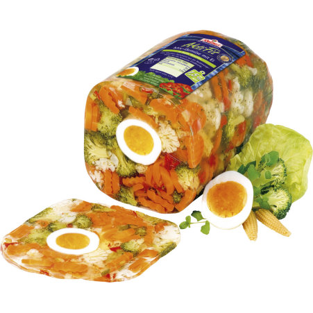 Reinert Gemüse Mix mit Ei in Aspik