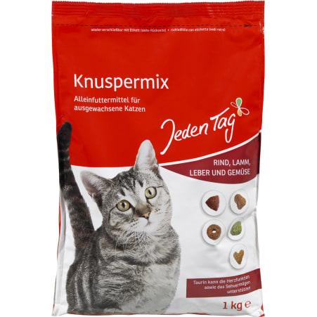 Jeden Tag Katzentrockennahrung Knusper-mix