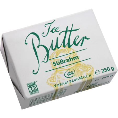 Vorarlberg Milch eGen Teebutter Süßrahm 250 gr