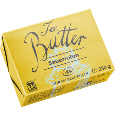 Vorarlberg Milch Teebutter Sauerrahm