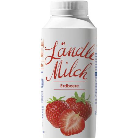 Vorarlberg Milch Ländle Milch Erdbeere