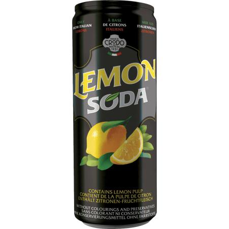 Terme di Crodo Lemonsoda 0,33 Liter Dose