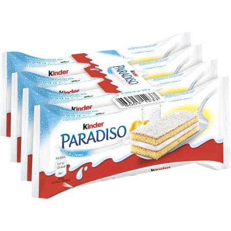 Kinder Kinder Paradiso 4er-Packung