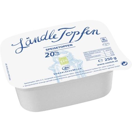 Vorarlberg Milch Ländle Topfen 20%