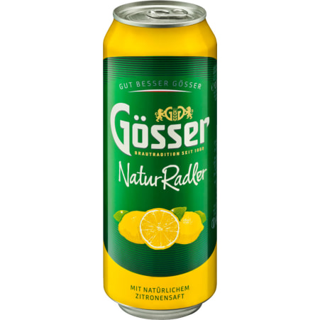Gösser Naturradler 0,5 Liter Dose