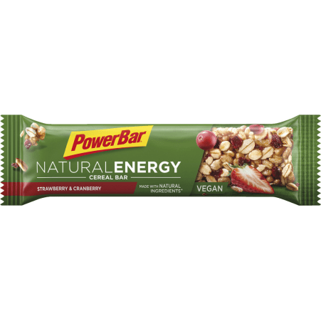 POWERBAR® Natural Energy Cereal Bar Strawberry & Cranberry