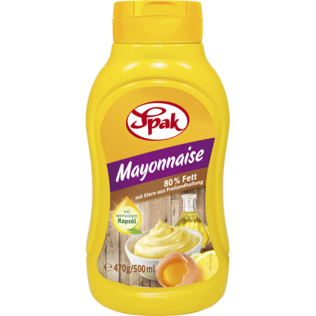 Spak Mayonnaise 80% Stehtube