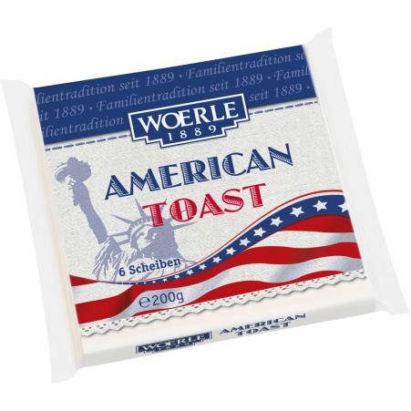 Woerle American Toast Scheiben 35%