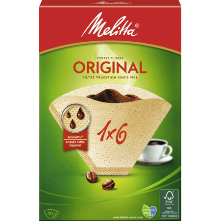 MELITTA Kaffeefilter 1x6 40er-Packung