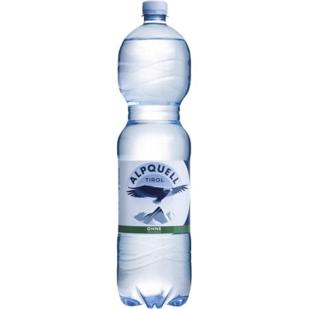 ALPQUELL Mineralwasser ohne Kohlensäure Tray 6x 1,5 Liter