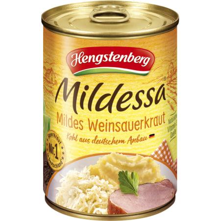 Hengstenberg Mildessa Weinsauerkraut mild