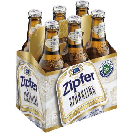 ZIPFER BIER Sparkling Tray 6x 0,25 Liter Einweg-Flasche