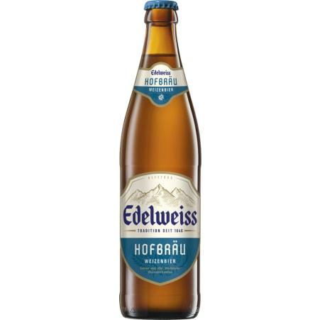 Edelweiss Hofbräu 0,5 Liter Mehrweg-Flasche