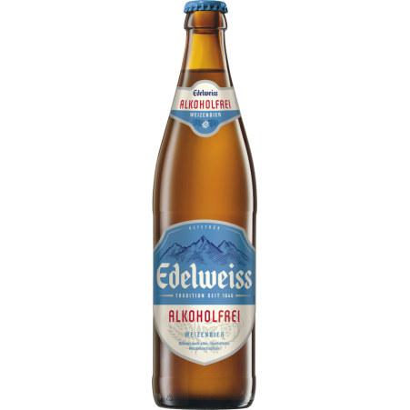 Edelweiss Alkoholfrei 0,5 Liter Mehrweg-Flasche