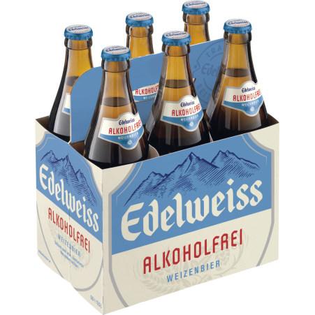 Edelweiss Alkoholfrei Tray 6x 0,5 Liter