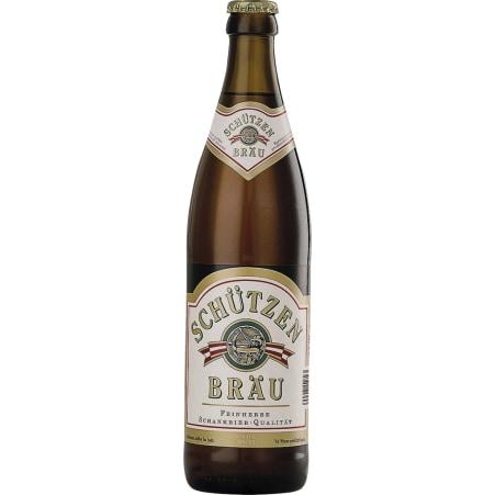 Schützenbräu Bier 0,5 Liter Mehrweg-Flasche