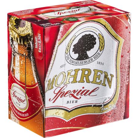 Mohren Spezial Tray 6x 0,5 Liter Mehrweg-Flasche