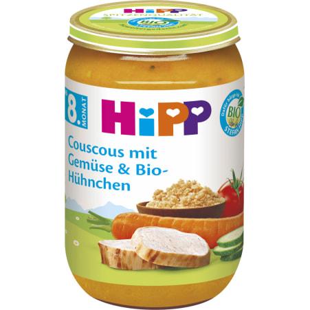 HiPP Bio Couscous-Gemüse-Biohühnchen 8. Monat