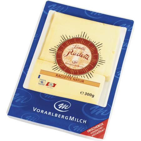 Vorarlberg Milch eGen Ländle Raclette Scheiben