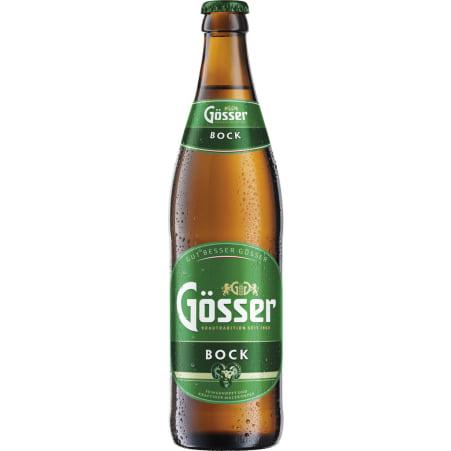 Gösser Bock 0,5 Liter Mehrweg-Flasche